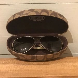 Coach Kristina Sunglasses, Polarized